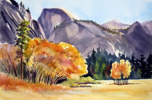 ahwahnee meadow fall